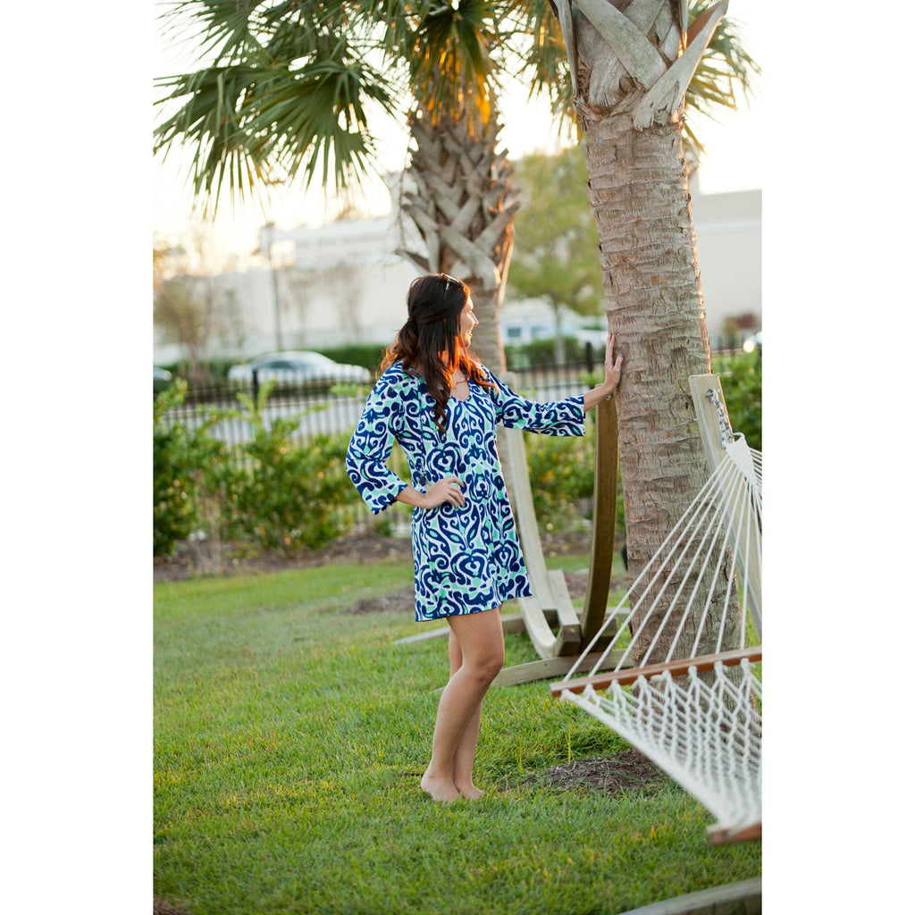 Luna Lagoon Tunic - Monogrammed Gifts for Her