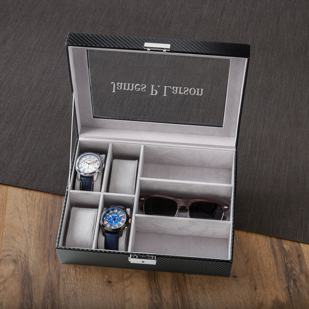 men s watch and sunglasses box personalized men s watch and sunglasses box personalized premier home gifts