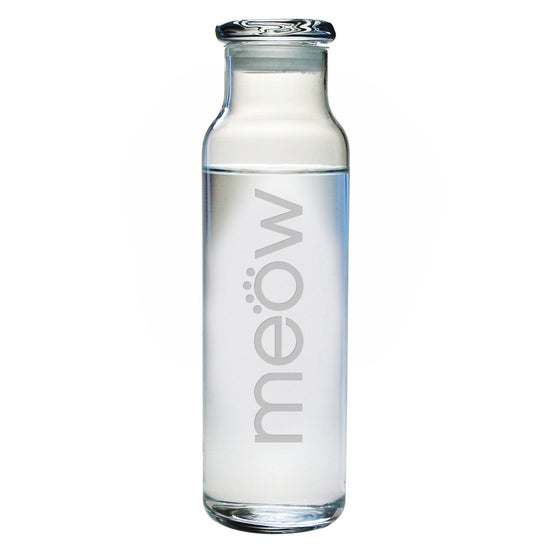 Meow Water Bottle with Lid