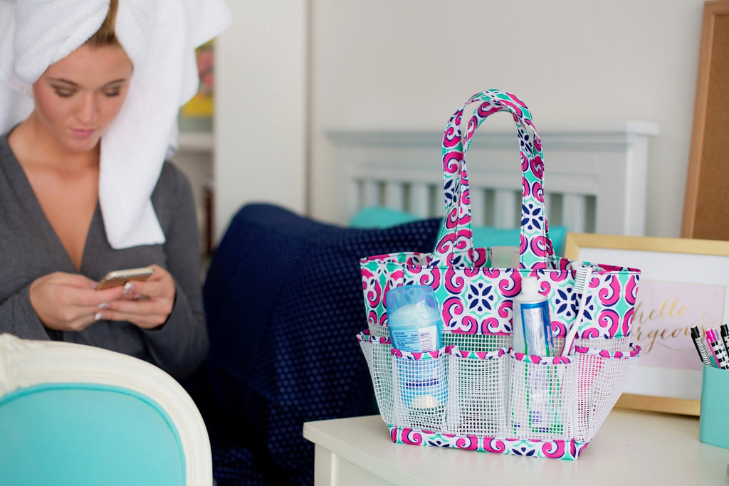 Mia Personalized Shower Caddy - Premier Home & Gifts