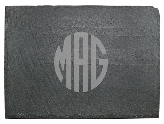 Slate Cheese Board ~ Monogrammed