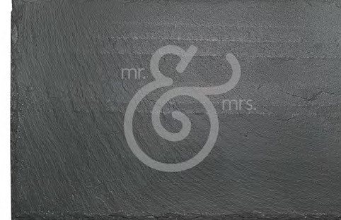 Mr. and Mrs. Ampersand Slate Cheese Board