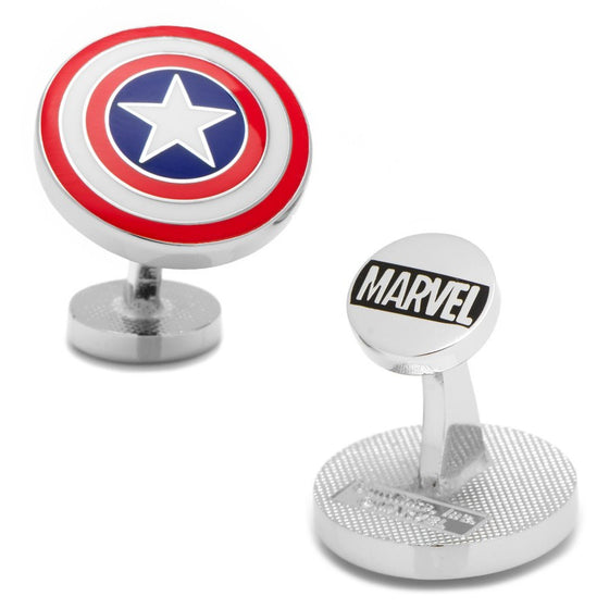 Captain America Cufflinks - Premier Home & Gifts
