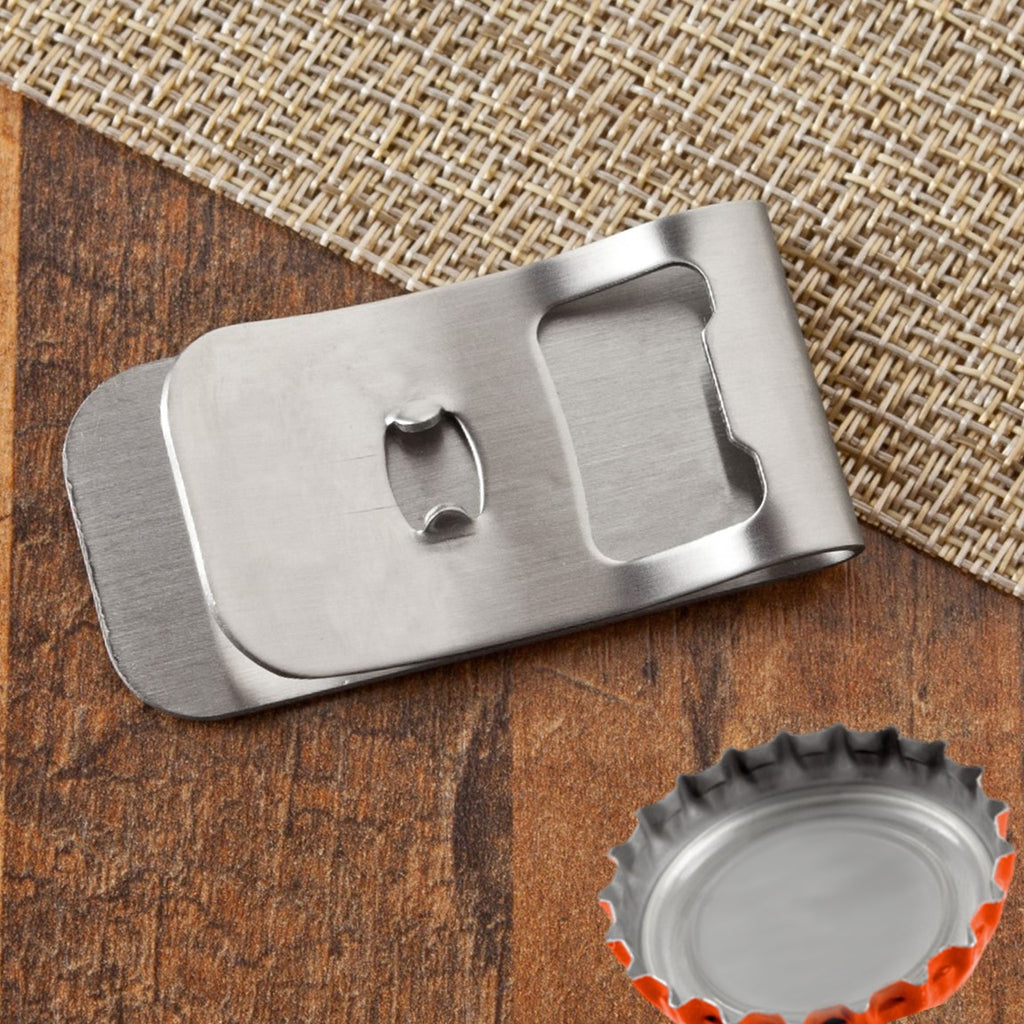 NFL Money Clip Bottle Opener