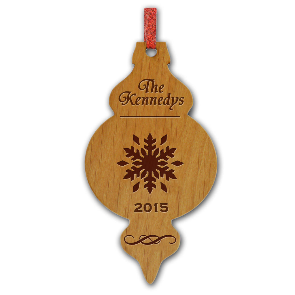 Old Fashioned Wood Ornament