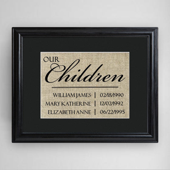 Our Children - Framed Print | Premier Home & Gifts