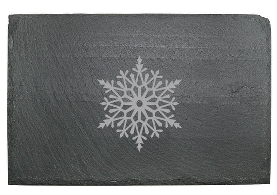 Snowflake Slate Cheese Board