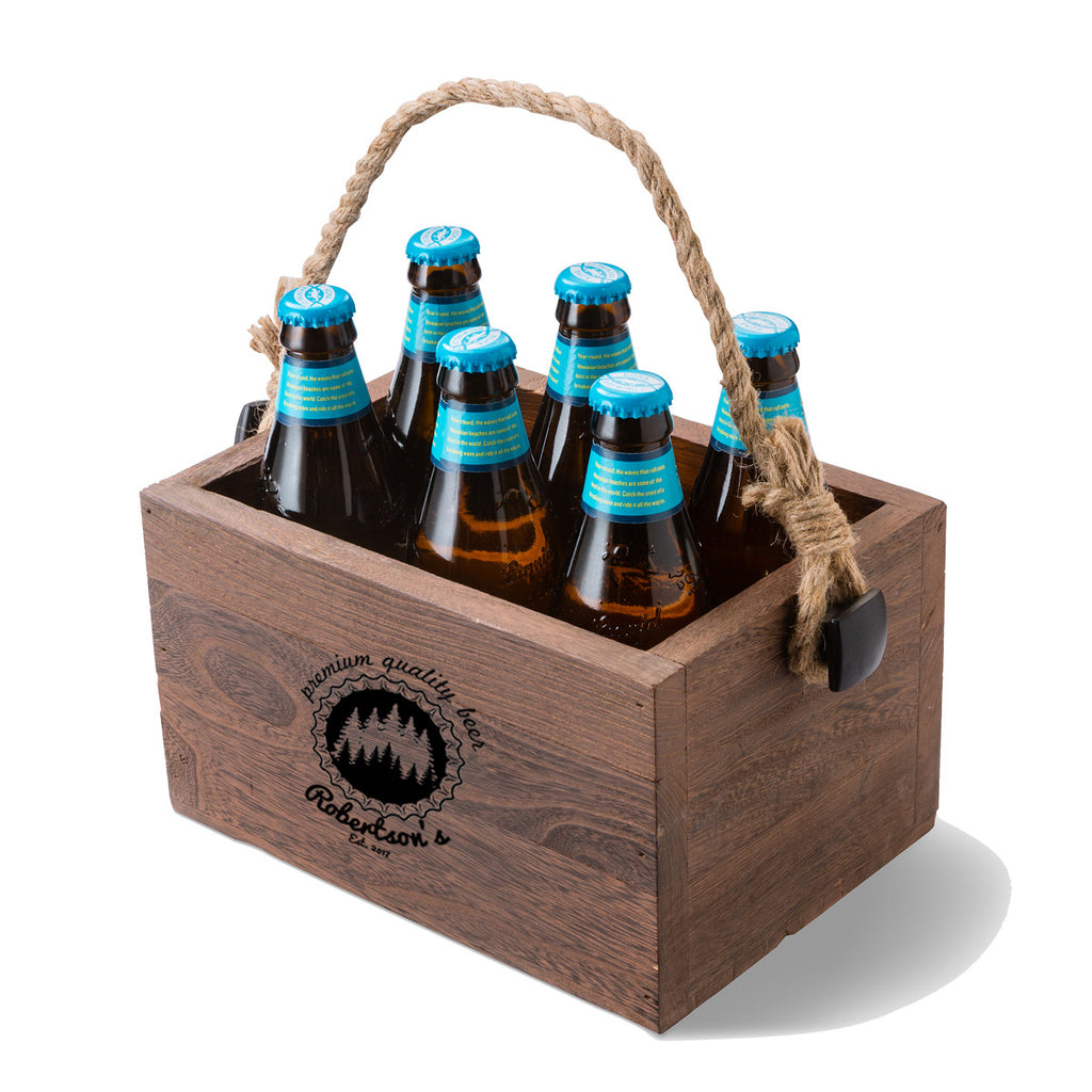 Beer Caddy - Personalized