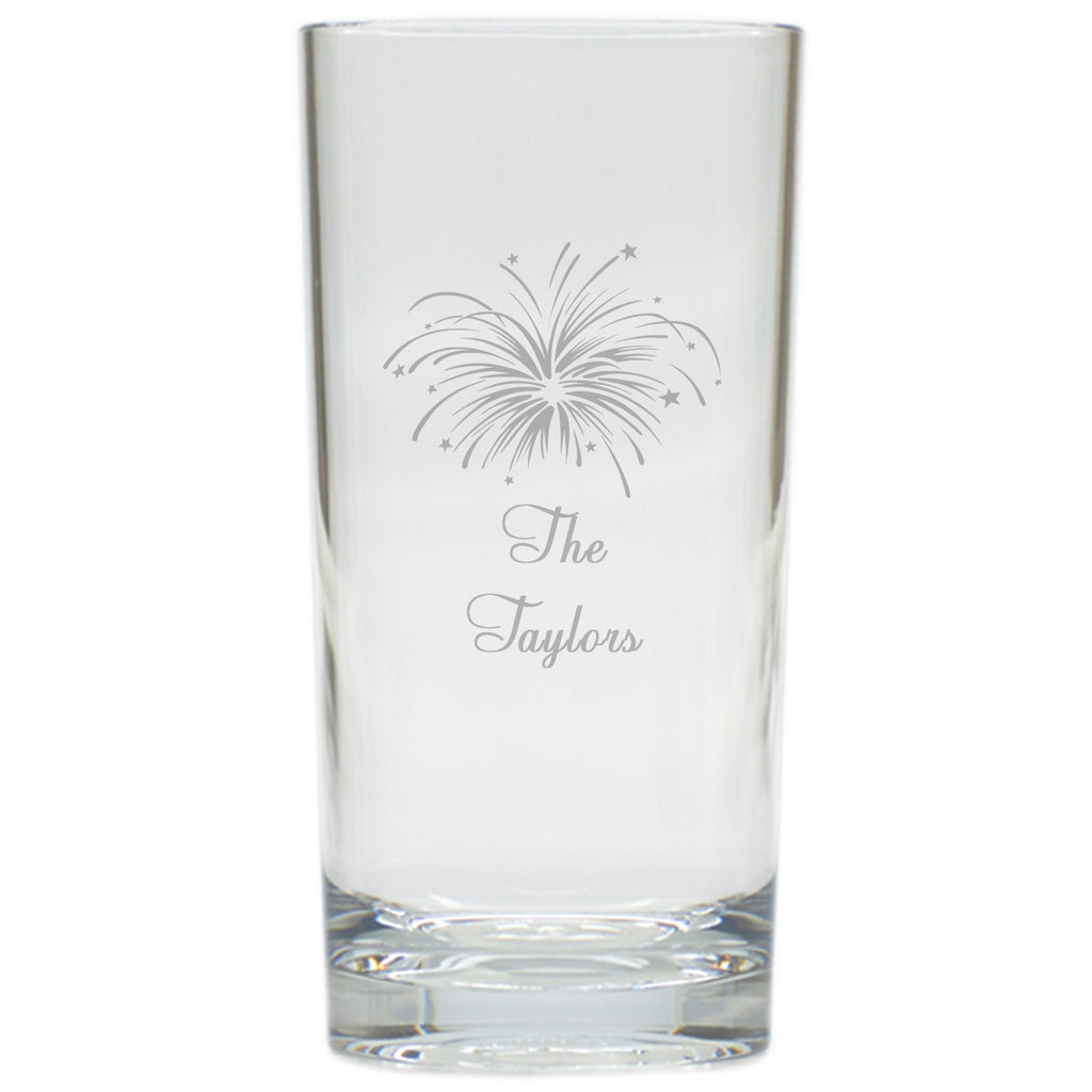 Fireworks Highball Outdoor Glasses - Set of 4