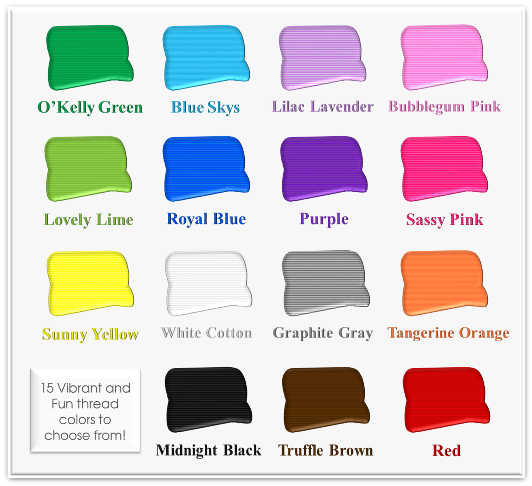 Thread Color Choices