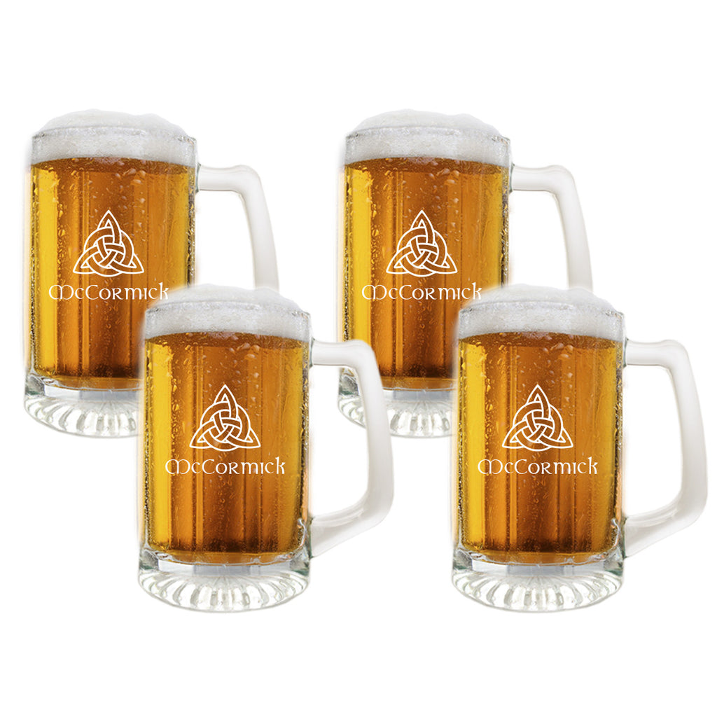 Celtic Knot Sports Mug Beer Glasses ~ Personalized