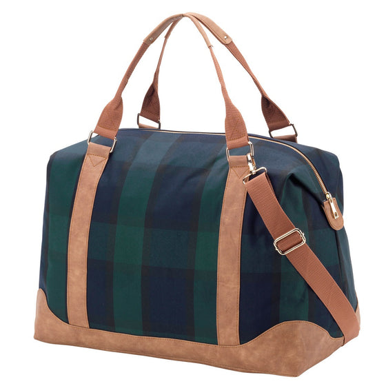 Hartford Plaid Weekender Bag - Premier Home & Gifts