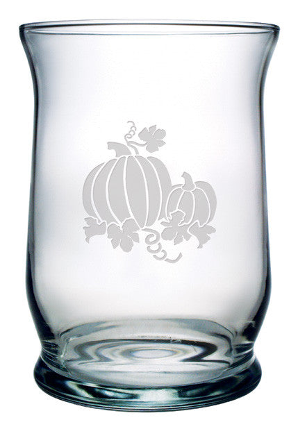 Pumpkin Patch Hurricane Candle Holder