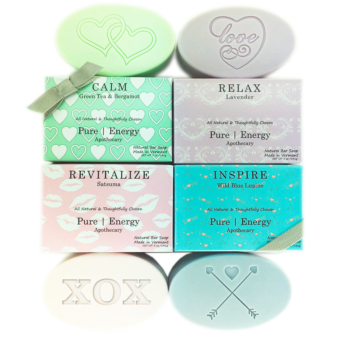 Pure Energy Apothecary Soaps Valentine Gift Set