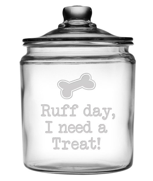 Ruff Day Treat Jar