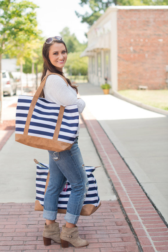 Nantucket Tote Bag - Navy
