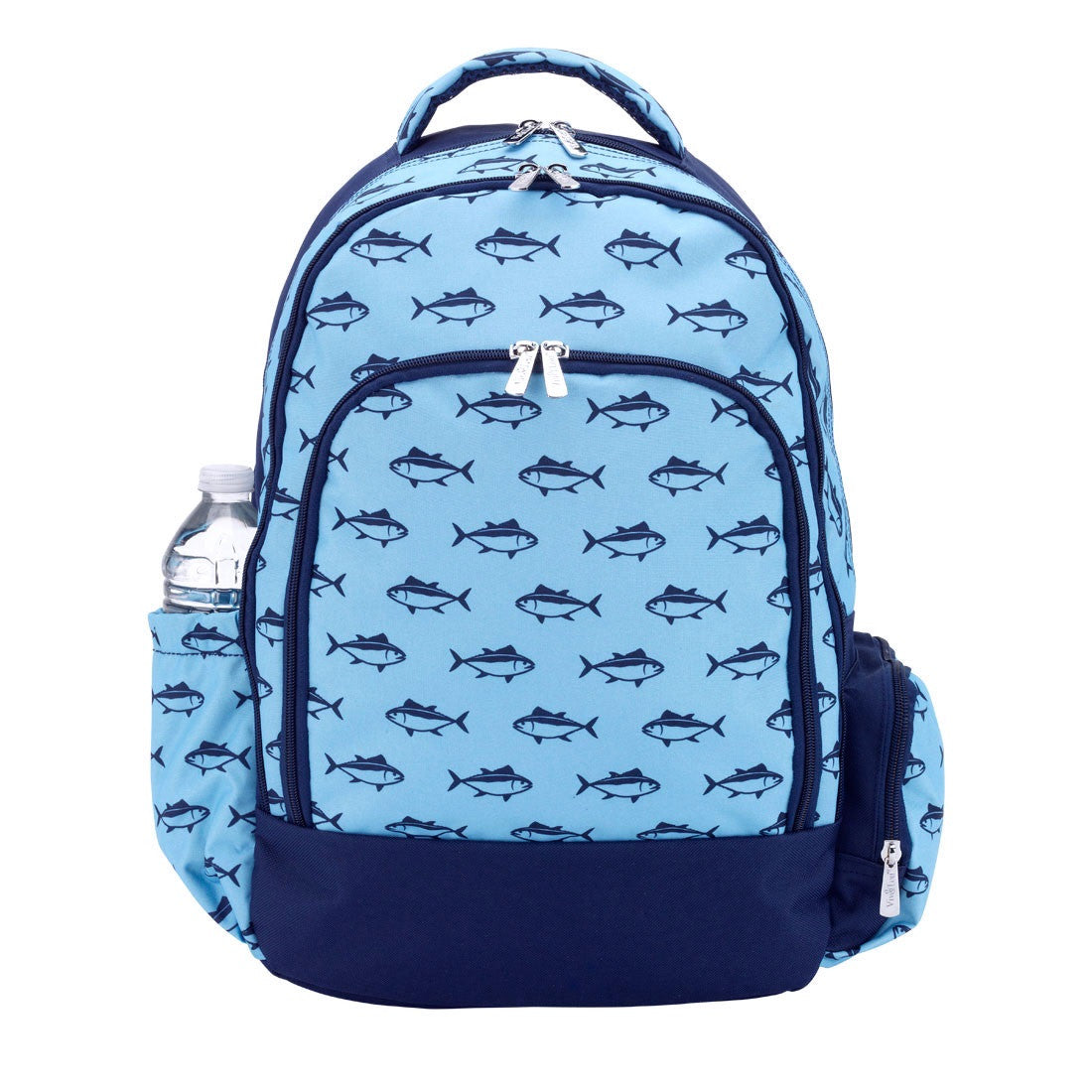 Reject Shop Christmas Tree Lights: School Of Fish Personalized Backpack