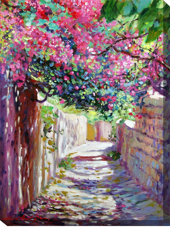 Shady Lane Outdoor Canvas Art - Premier Home & Gifts