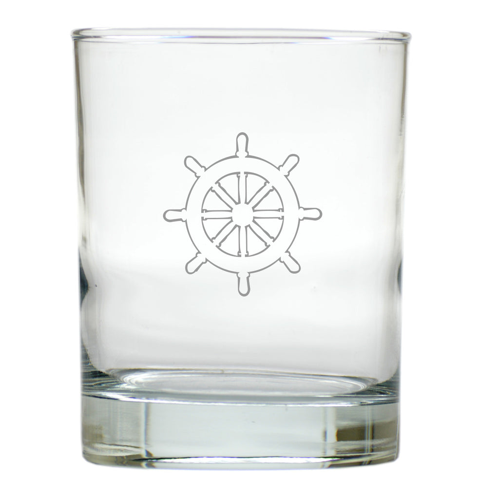 Ship's Wheel Double Old Fashioned Outdoor Glasses - Set of 4
