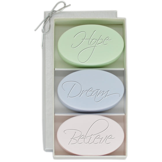 Hope, Dream, Believe Luxury Soaps
