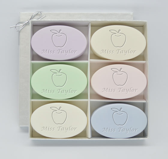 Apples for Teacher Soap Gift Set
