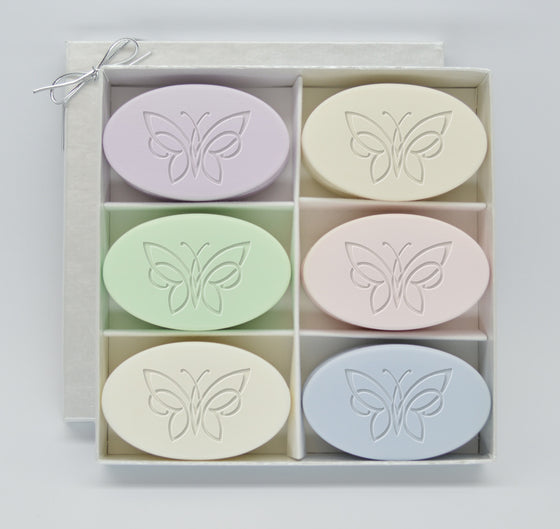 Flourished Butterfly Soap Gift Set