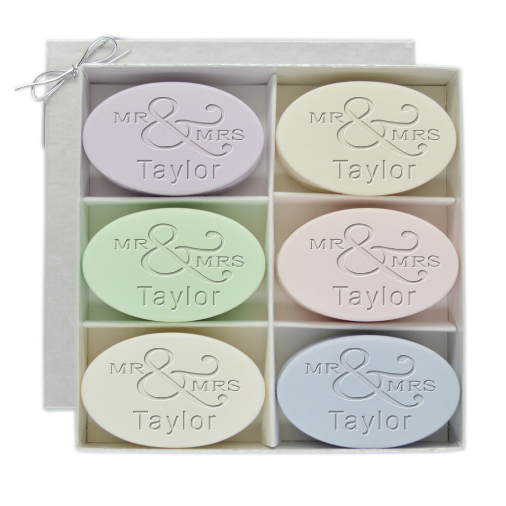 Signature Spa Mr. & Mrs. Gift Soap Set - Premier Home & Gifts