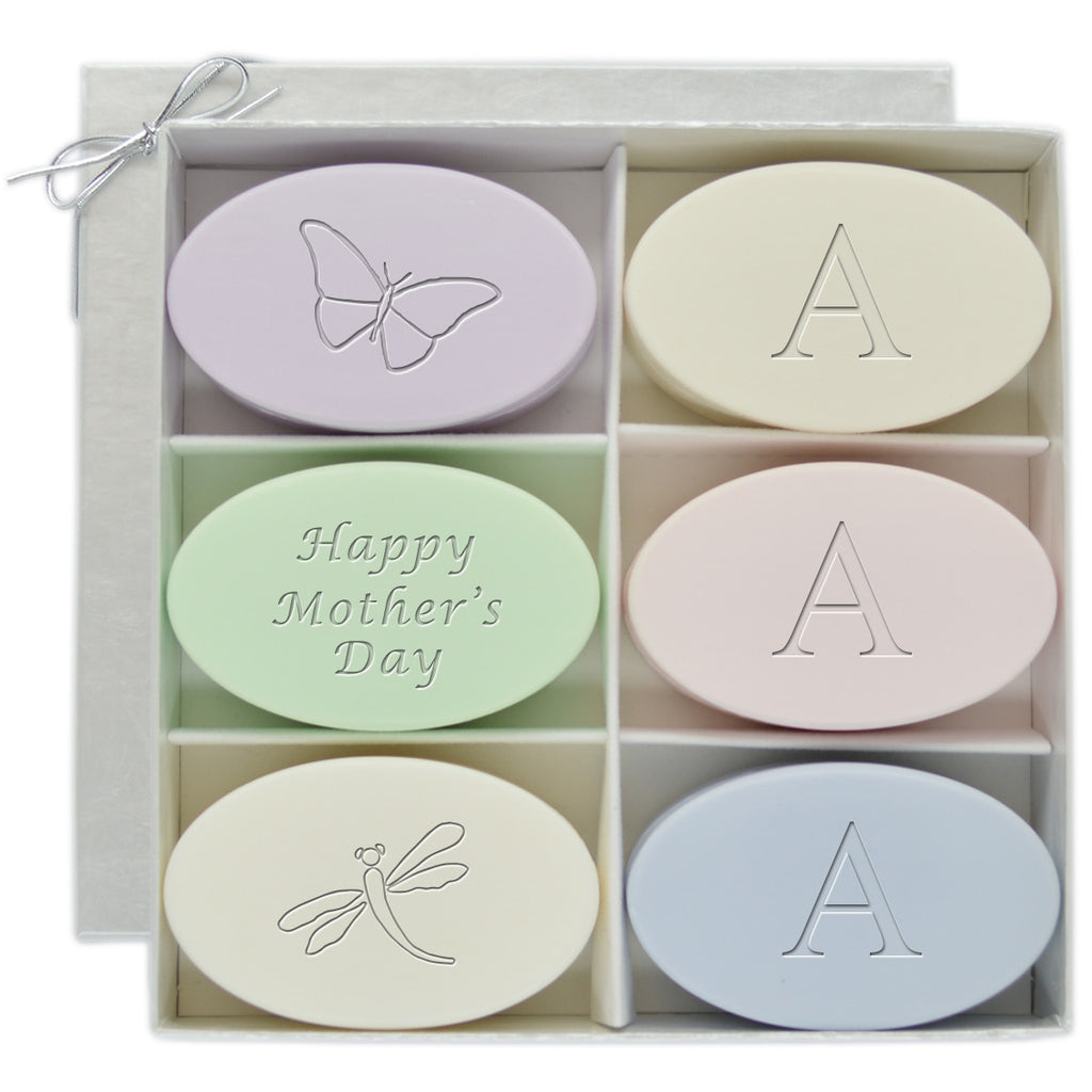 Mother's Day Initial Luxury Soap Gift Set