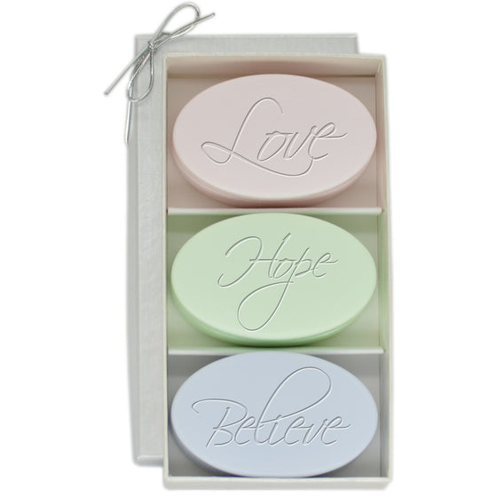 Love, Hope, Believe Luxury Soaps