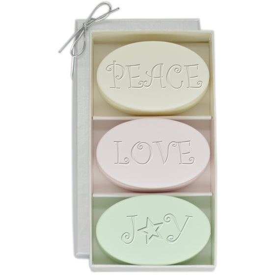 Peace, Love, Joy Luxury Soaps