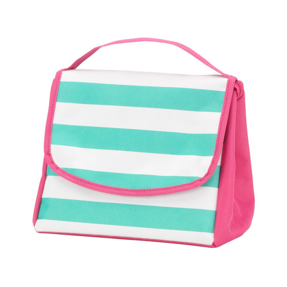 Skylar Stripe Personalized Lunch Bag - Premier Home & Gifts