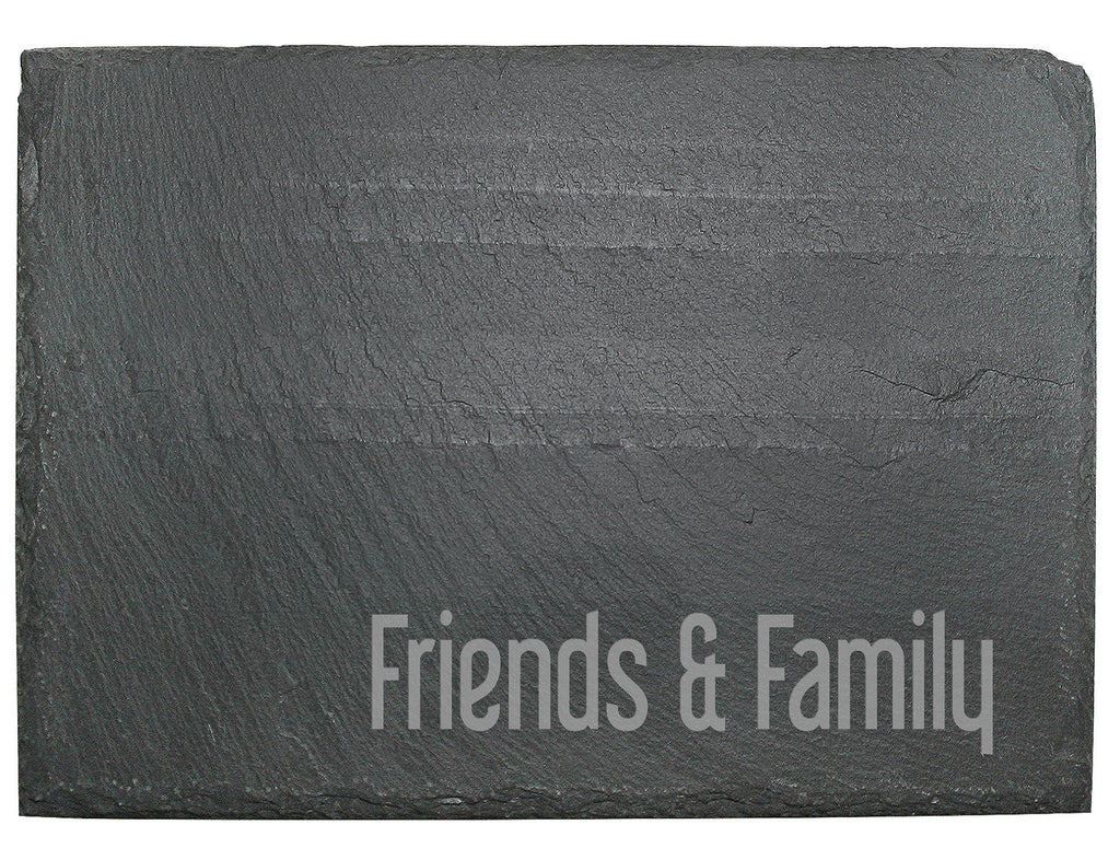 Slate Cheese Board ~ Personalized