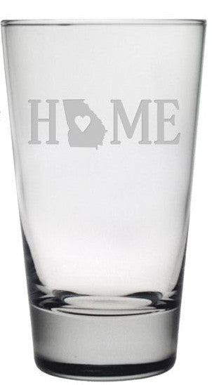 Home States Highball Glasses ~ Set of 4