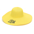 Summer Floppy Hat - Yellow