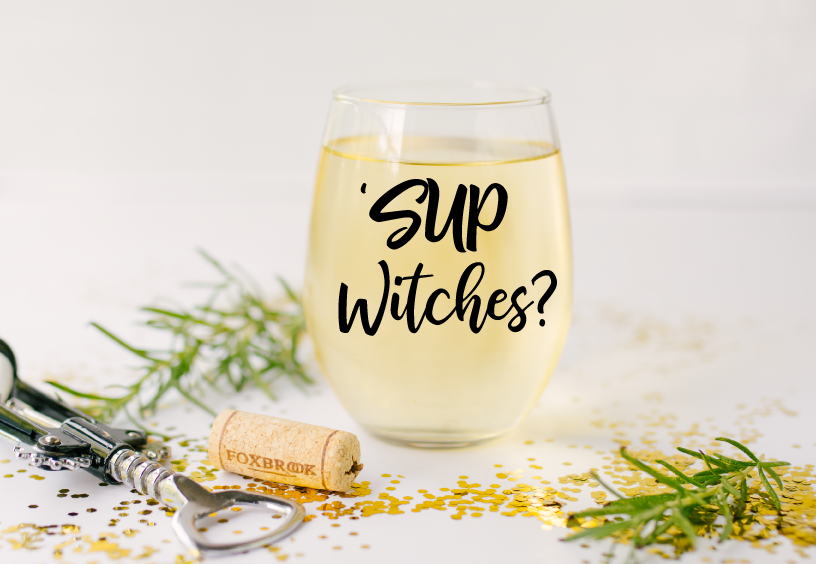 'Sup Witches Stemless Glass