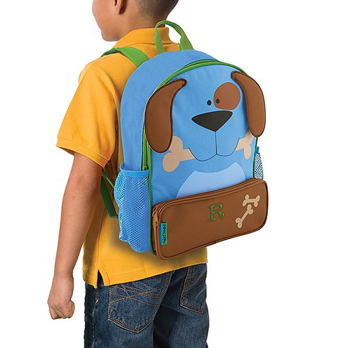 Blue Puppy Kids Backpack - Kids Gifts - Back to School - Premier Home & Gifts