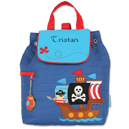 Pirate Quilted Backpack - Kids Gifts - Premier Home & Gifts