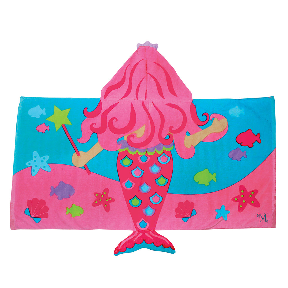 Mermaid Hooded Towel - Personalized Gifts for Girls