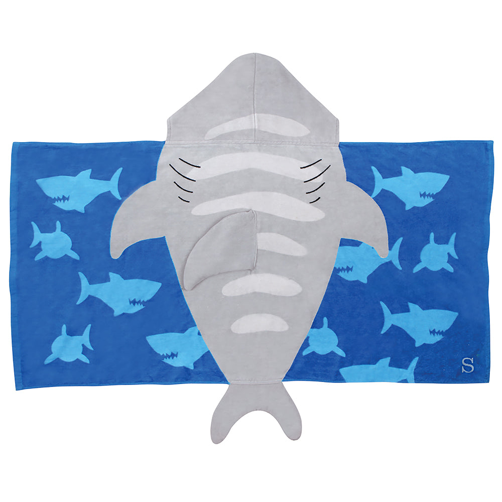 Shark Hooded Towel - Personalized Gifts for Kids