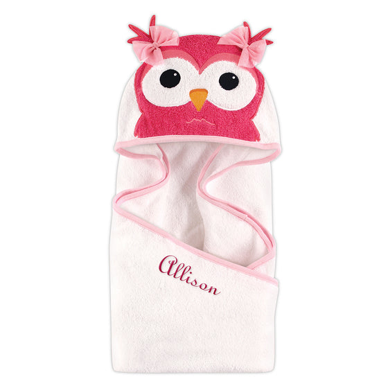 Owl Hooded Towel - Personalized Gifts for Baby