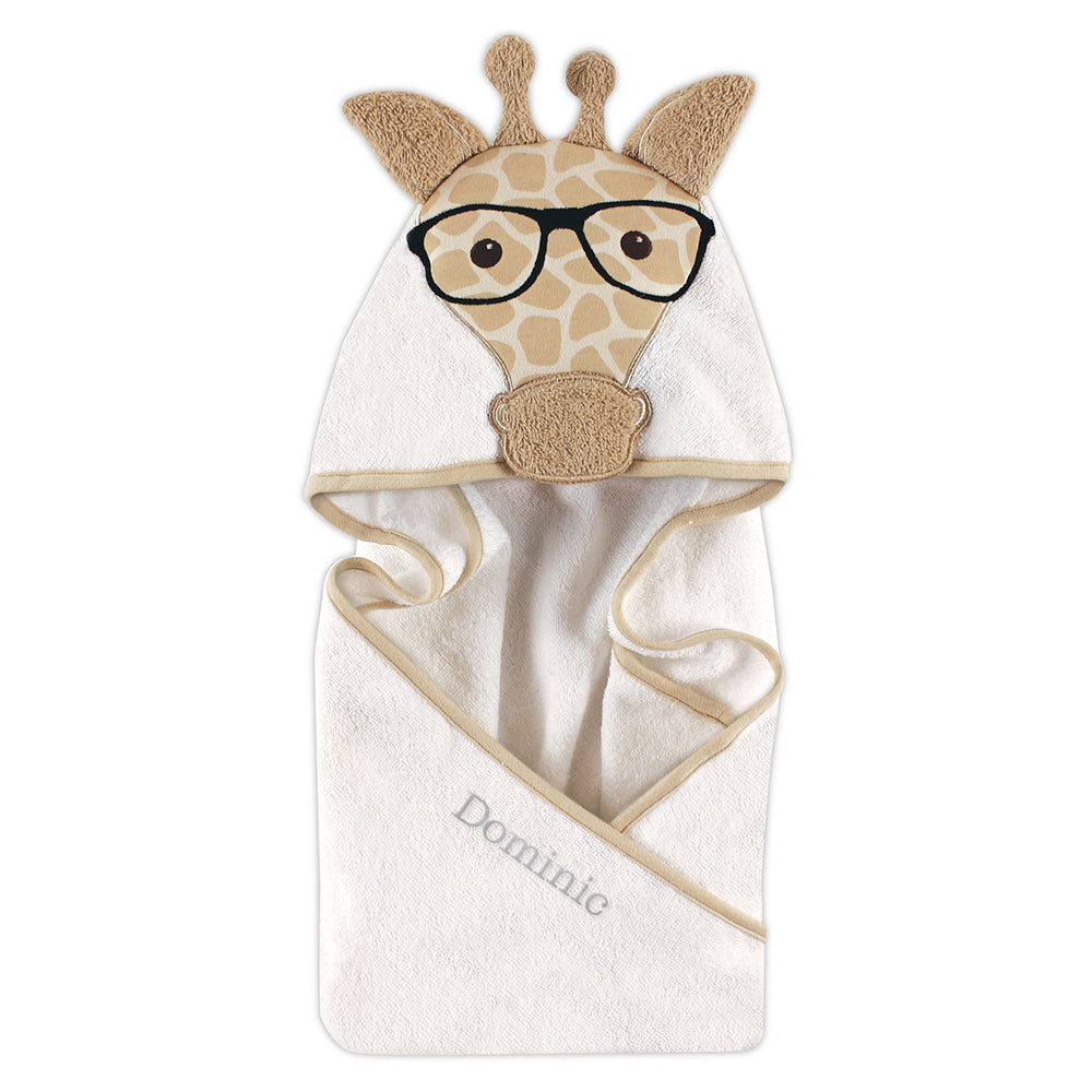 Giraffe Hooded Towel - Personalized Gifts for Baby