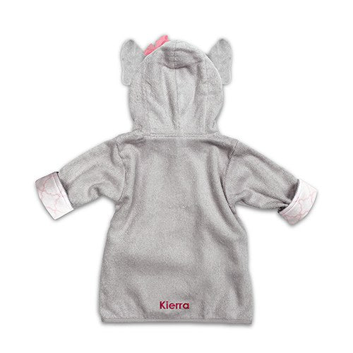 Elephant Hooded Bathrobe - Personalized Baby Gifts