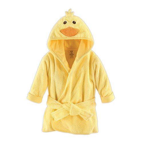 Ducky Hooded Bathrobe - Personalized Gifts for Baby