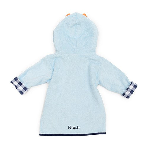 Fox Hooded Bathrobe - Personalized Gifts for Baby Boys