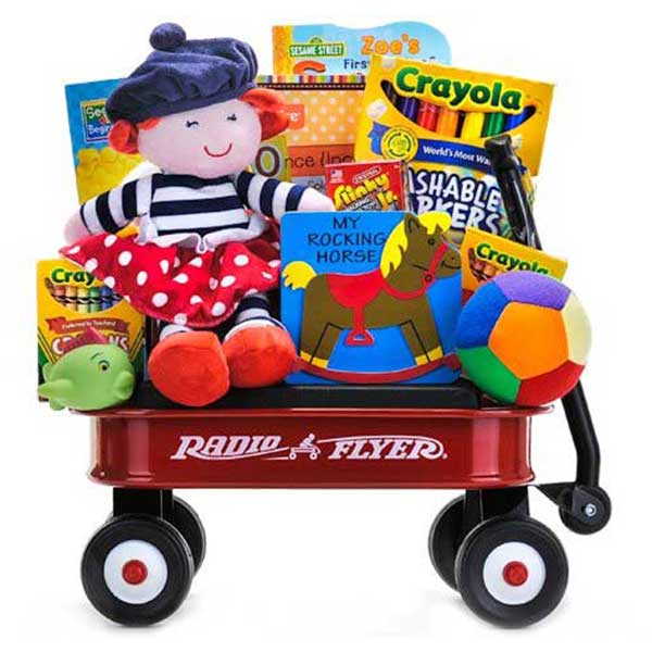 Radio Flyer Wagon - Toddler Fun