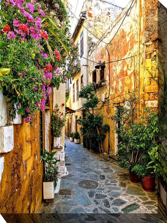 Tuscan Alley Outdoor Canvas Art