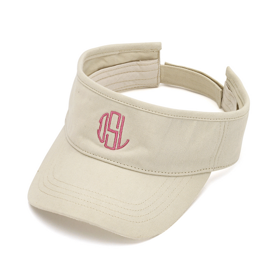 Twill Visor - Natural