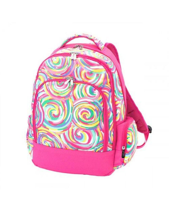 Swirls Preschool Backpack Personalized Backpacks