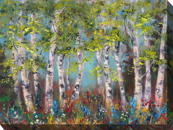 Wildflower Forest Outdoor Canvas Art - Premier Home & Gifts