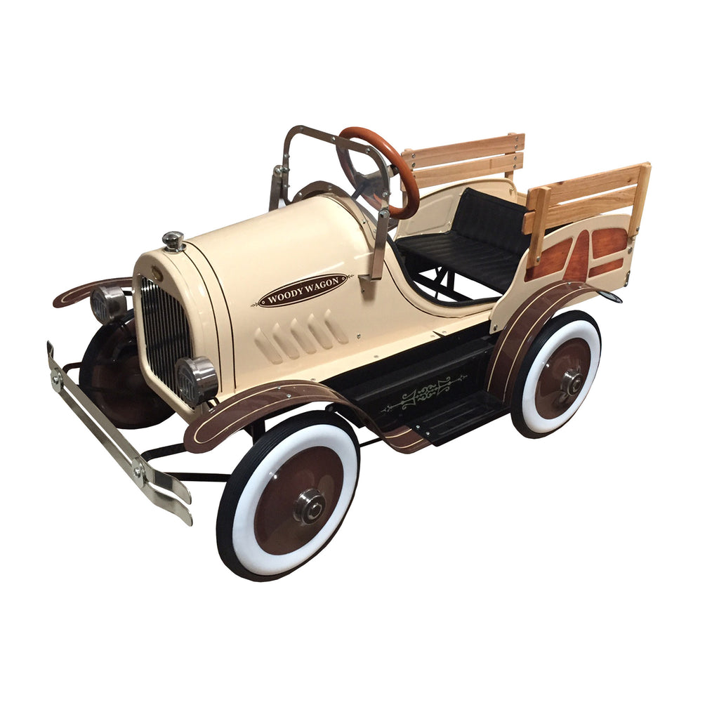 Woody Delivery Truck Pedal Car